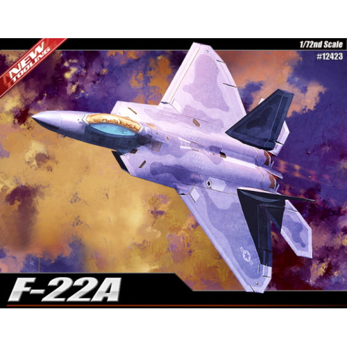 [ACA12423] 1/72 F-22A AIR DOMINANCE FIGHTER
